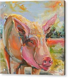 Pig Latin Acrylic Print