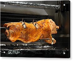 Pig Plus Barbecue Equals Mmmm Good Acrylic Print