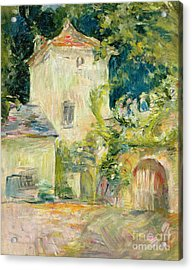 Pigeon Loft At The Chateau Du Mesnil Acrylic Print by Berthe Morisot