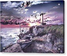 Pigeon Point Lighthouse 3 Acrylic Print