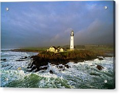 Pigeon Point Lighthouse Acrylic Print