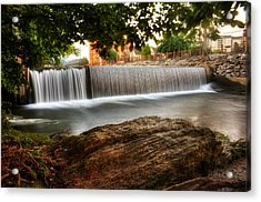 Pigeon River At Old Mill Acrylic Print