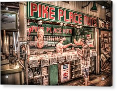 Pike Place Nuts Acrylic Print