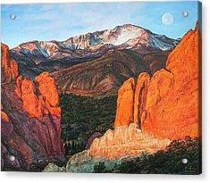 Pikes Peak Acrylic Print