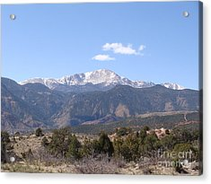 Pikes Peak Colorado One Acrylic Print