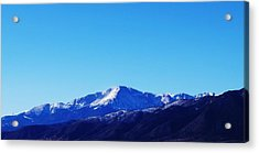 Acrylic Print featuring the photograph Pikes Peak by Joseph Frank Baraba
