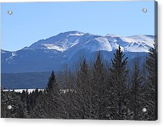 Pikes Peak Cr 511 Divide Co Acrylic Print