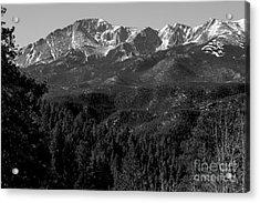 Pikes Peak Spring Acrylic Print