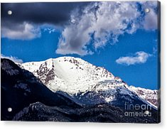 Pikes Peak View Acrylic Print by Dennis Wagner