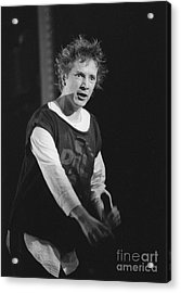 Pil Johnny Came On Stage Acrylic Print by Philippe Taka