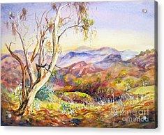 Pilbara, Hamersley Range, Western Australia. Acrylic Print