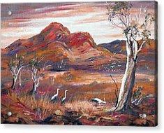 Pilbara, Outback, Western Australia, Acrylic Print