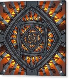 Pillars Acrylic Print by Kaupo Peetso