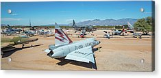 Acrylic Print featuring the photograph Pima Air And Space Museum by Dan McManus
