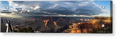 Acrylic Print featuring the photograph Pima Point Panorama by Beverly Parks