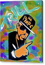 Pimp C Acrylic Print
