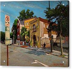 Pinckney Inn - Charleston Sc Acrylic Print by Doug Strickland