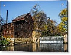 Pine Creek Grist Mill 2 Acrylic Print