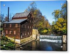 Pine Creek Grist Mill Acrylic Print by Paul Freidlund