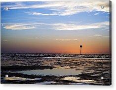 Pine Island Sunset Acrylic Print