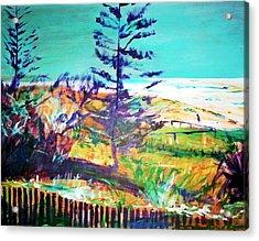 Pine Tree Pandanus Acrylic Print