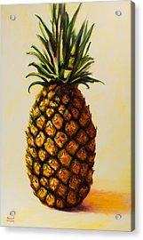 Pineapple Angel Acrylic Print