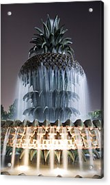Pineapple Fountain Charleston Sc Acrylic Print by Dustin K Ryan