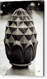 Pineapple, Oak Alley, Vacherie, Louisiana Acrylic Print