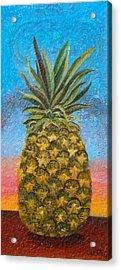 Pineapple Sunrise Or Pineapple Sunset Acrylic Print