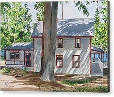 Pinehurst Cottage Acrylic Print by Karol Wyckoff