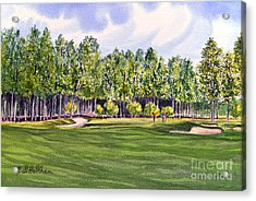 Pinehurst Golf Course 17th Hole Acrylic Print