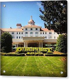 Pinehurst #golf #pinehurst8 Acrylic Print