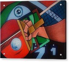 Ping Pong Acrylic Print