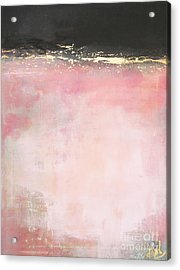 Pink And Gold - Again Acrylic Print by Anahi DeCanio