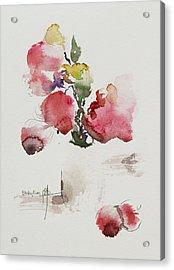 Pink Acrylic Print by Becky Kim