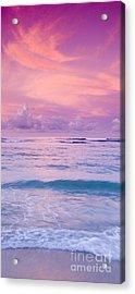 Pink Bliss -  Part 2 Of 3 Acrylic Print