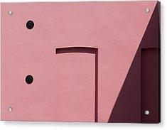 Pink Emoji Acrylic Print