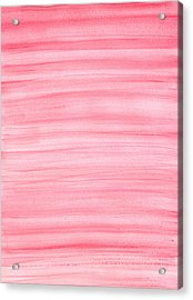 Pink Acrylic Print by Eric Forster