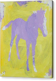 Pink Filly Acrylic Print