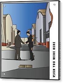 Pink Floyd - Wish You Were Here Acrylic Print
