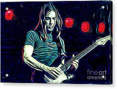 Pink Floyd David Gilmour Collection Acrylic Print
