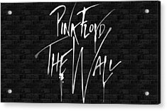 Pink Floyd The Wall,nixo Acrylic Print