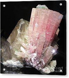 Pink Gemstone Acrylic Print