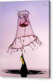 Pink Hood Acrylic Print