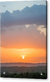 Pink Hues Acrylic Print by Parker Cunningham