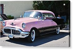 Acrylic Print featuring the photograph Pink Is A Color by Al Fritz