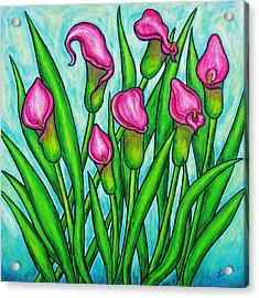 Pink Ladies Acrylic Print