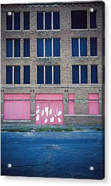 Acrylic Print featuring the photograph Pink Promises by Trish Mistric