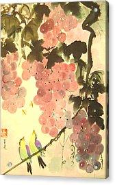 Pink Romance Acrylic Print by Lian Zhen