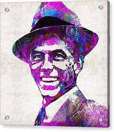 Pink Sinatra - Frank Sinatra Tribute Acrylic Print
